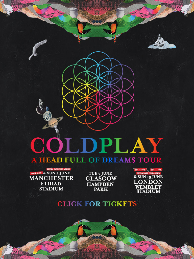 Coldplay – A Head Full Of Dream Tour 2016