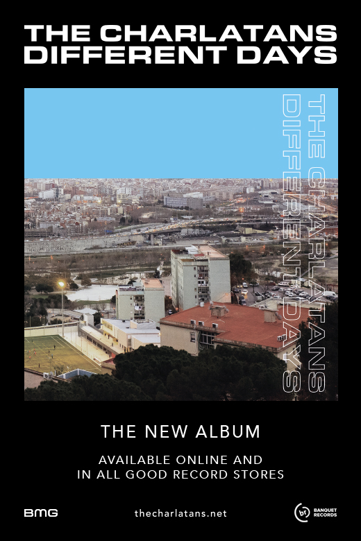 The Charlatans – Different Days (May 2017)
