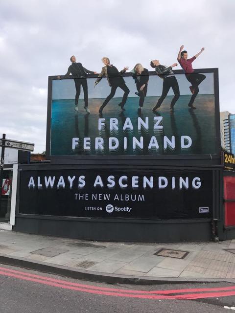 Franz Ferdinand – Always Ascending (Feb 2018)