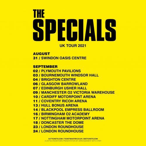 The Specials UK Tour 2021