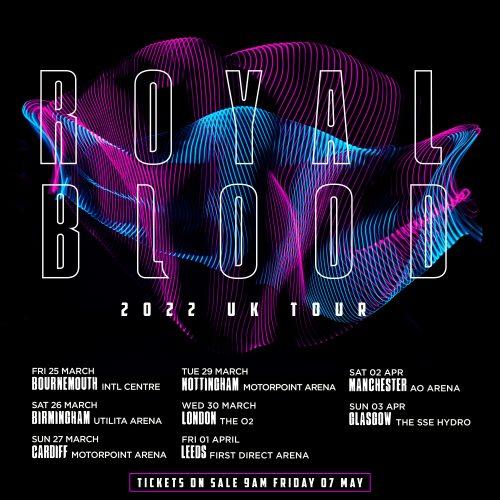 Royal Blood UK Tour 2022