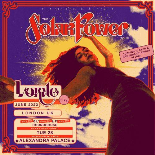 Lorde UK Tour 2022