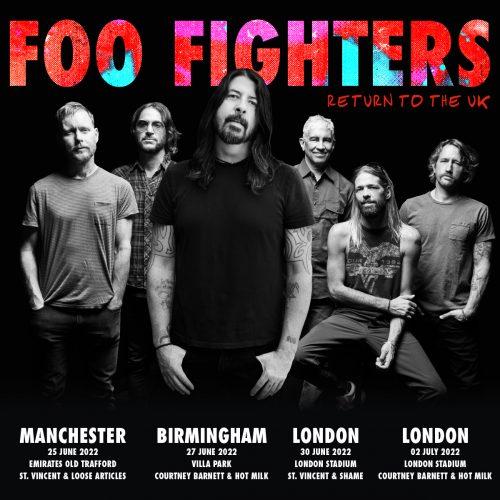 Foo Fighters UK Stadium Tour 2022