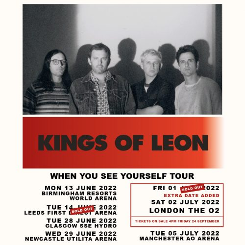 Kings Of Leon June 2022