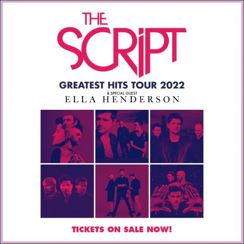 The Script Greatest Hits Tour 2022