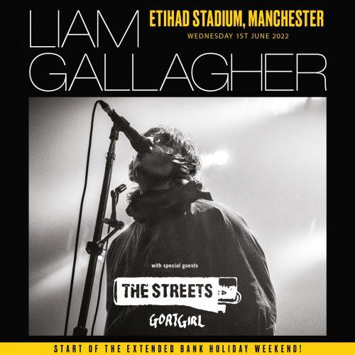 Liam Gallagher Manchester June 2022